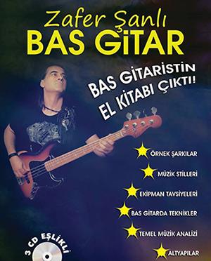 Zafer Şanlı Bas Gitar Metodu<br>